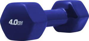 Hantla żeliwna winylowa 4kg Platinum Fitness - 2822250626