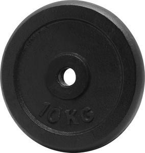 Obciażenie czarne żeliwne 10kg 29mm Platinum Fitness - 2822250644