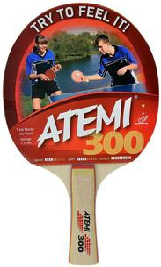 Rakietka do ping-ponga 300 Atemi (concave) - 2822250776