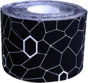 Taśma Kinesio 5cm x 5m Thera-Band (czarno-biała) - 2822250811
