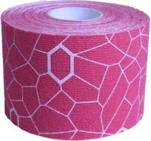 Taśma Kinesio 5cm x 25,4cm 20 sztuk Thera-Band (różowo-biała) - 2822250820
