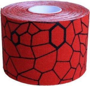 Taśma Kinesio 5cm x 25,4cm 20 sztuk Thera-Band (czerwono-czarna) - 2822250821