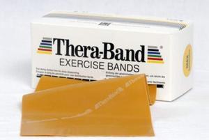 Taśma rehabilitacyjna 1,5m opór maksymalnie mocny Thera-Band - 2822250829