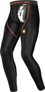 Kompresyjne spodnie hokejowe z wkładką BioFlex CUP Shock Doctor / Tanie RATY - 2822251124