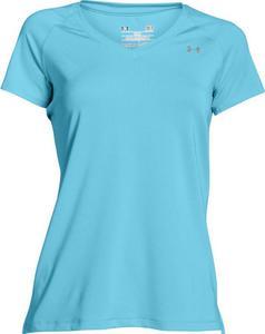 Koszulka damska Heat Gear SS Under Armour (niebieska) - 2853821479
