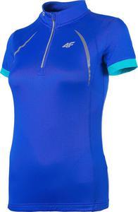 T-shirt koszulka rowerowa damska RKD001 4F (chabrowy) - 2822251351