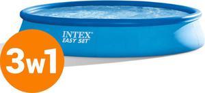 Basen rozporowy 396x84cm Easy Set z pompą 2w1 28142 Intex / Tanie RATY / DOSTAWA GRATIS !!! - 2850507430