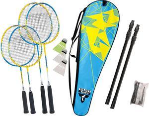 Zestaw do badmintona Familly Talbot Torro (niebiesko-żółty) / Tanie RATY - 2834951834