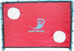Bramka do piłki nożnej z ekranem do celowania 215cm Axer (niebieska) / GWARANCJA 24 MSC. / Tanie RATY - 2833853989