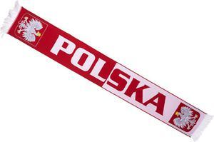Szalik kibica Polska - 2833854017