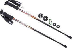 Kije trekkingowe Compact 4 Fizan (czarne) / Tanie RATY - 2834951874
