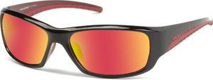 Okulary przeciwsłoneczne SP20024A Solano (czarno-czerwone) / Tanie RATY - 2834574204