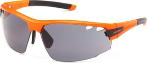 Okulary sportowe przeciwsłoneczne SP60012 Solano (pomarańczowo-szare) / Tanie RATY - 2834574247