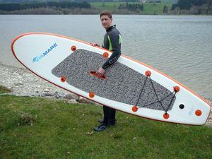 Deska pompowana Sup Board 300 ViaMare (pomarańczowa) / Tanie RATY / DOSTAWA GRATIS !!! - 2835579552