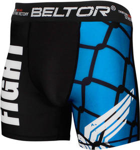 Spodenki MMA vale tudo Trapped Wing Beltor (czarno-niebieskie) / Tanie RATY - 2836869604