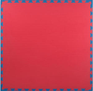Mata puzzle 25mm Standard Yoshimats (czerwono-niebieska) - 2847430603