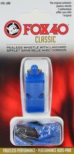 Gwizdek sędziowski Classic Safety ze sznurkiem Fox 40 (niebieski) - 2836869697