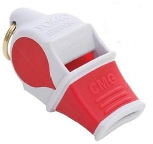 Gwizdek CMG Sonik Blast ze sznurkiem Fox 40 (czerwono-biały) - 2836869701