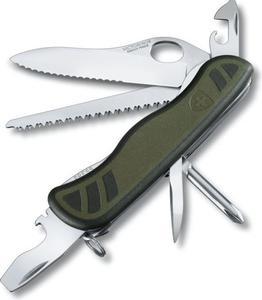Scyzoryk Swiss Soldier's Knife 08 111mm Victorinox (zielono-czarny) / Tanie RATY - 2837766316