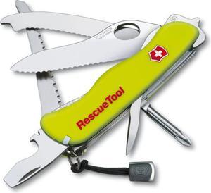 Scyzoryk ratowniczy Rescuetool OneHand 111mm + etui Victorinox (żółty) / Tanie RATY / DOSTAWA GRATIS !!! - 2837766323