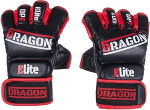 Rękawice chwytne Grappling MMA Elite Dragon - 2844937400