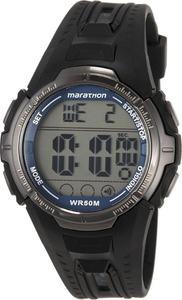 Zegarek Marathon by Timex Digital Timex (czarno-srebrny) / Tanie RATY - 2841971549