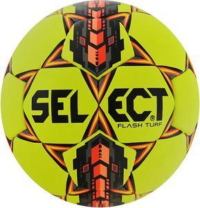 Piłka nożna Flash Turf 4 Select (żółto-pomarańczowa) / Tanie RATY - 2844201442