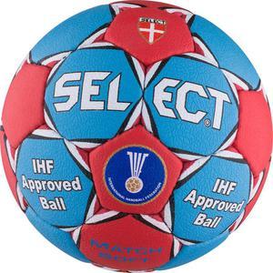Piłka ręczna Match Soft Liliput 1 Select (niebiesko-czerwona) / Tanie RATY - 2844201444