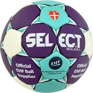 Piłka ręczna Solera Liliput 1 Select (błękitno-purpurowa) / Tanie RATY - 2844201457