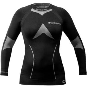 Bluza termoaktywna damska Wisser (czarno-szara) - 2853821493