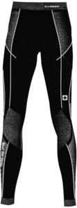 Spodnie termoaktywne damskie Wisser (czarno-szare) - 2844201496