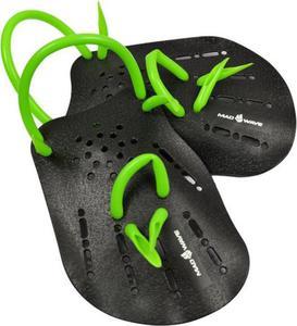 Wiosełka Paddles Mad Wave (czarno-zielone) - 2844470987