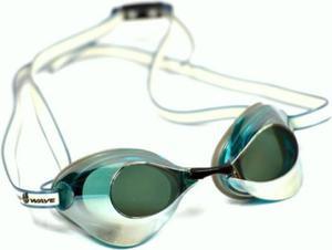 Okulary pływackie Turbo Racer II Mirror Mad Wave (zielone) - 2844470986
