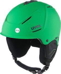 Kask narciarski P1us Uvex (zielony) / Tanie RATY / DOSTAWA GRATIS !!! - 2843102922