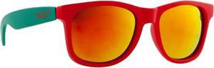 Okulary przeciwsłoneczne Shades L+ Majesty (czerwono-miętowe) - 2873610117