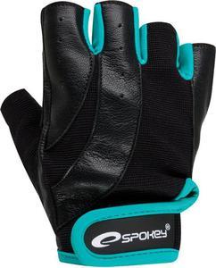 Rękawice fitnessowe Zoe Spokey (czarne) - 2842622575