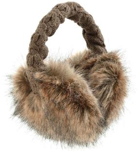 Nauszniki Fur Earmuffs Barts (brązowe) - 2843350007