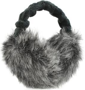 Nauszniki Fur Earmuffs Barts (ciemnoszare) - 2843350008