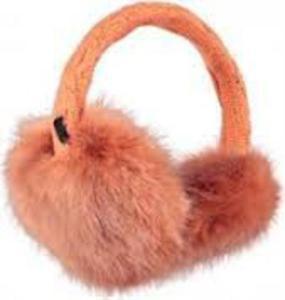 Nauszniki Fur Earmuffs Barts (brzoskwiniowe) - 2843350009