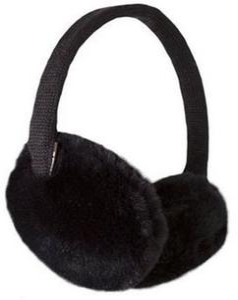 Nauszniki Plush Earmuffs Barts (czarne) - 2844631988