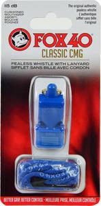 Gwizdek CMG Safety Classic ze sznurkiem Fox 40 (niebieski) - 2844632002
