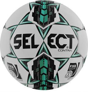 Piłka nożna Contra 5 FIFA Select (biało-miętowa) / Tanie RATY - 2845152165