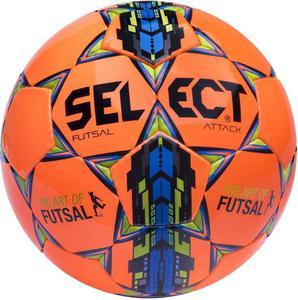 Piłka nożna Futsal Attack 4 Select (pomarańczowa) / Tanie RATY - 2845152173