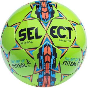 Piłka nożna Futsal Master 4 Select (zielono-niebiesko-pomarańczowa) / Tanie RATY - 2845152175