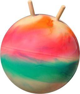 Piłka skacząca z rogami 55 cm Kimet (kolorowa) - 2847155555