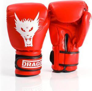 Rękawice bokserskie Box-Star Dragon (czerwone) - 2846621660