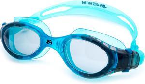 Okularki pływackie Aquastar 4Swim (niebiesko-szare) - 2846621785