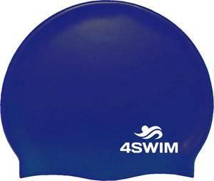 Czepek pływacki Solid Color Cap 4Swim (niebieski) - 2846901262