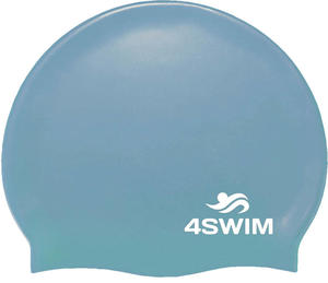 Czepek pływacki Solid Color Cap 4Swim (aqua) - 2846901264