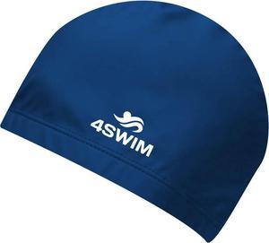 Czepek pływacki Comfort Cap 4Swim (niebieski) - 2846901271